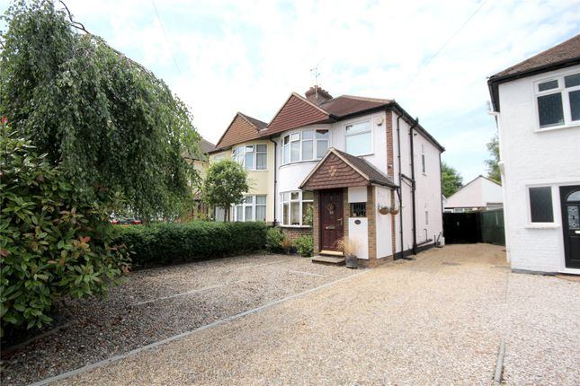 Thumbnail Semi-detached house for sale in Woodham Lane, New Haw, Surrey
