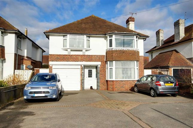 Thumbnail Detached house for sale in Goring Road, Goring By Sea, Worthing, West Sussex