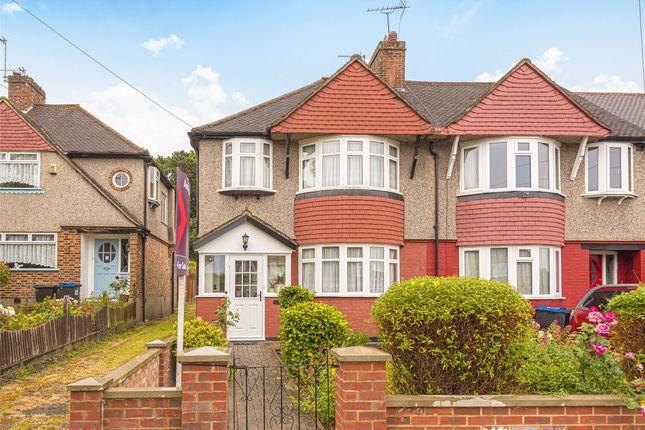 Thumbnail End terrace house for sale in Hillcross Avenue, Morden, London
