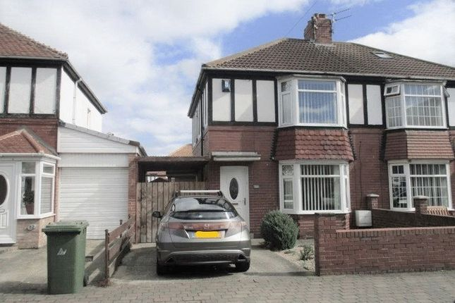 Thumbnail Semi-detached house to rent in Durban Street, Blyth