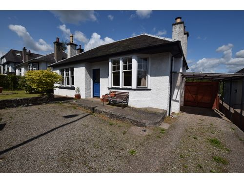 Thumbnail Detached bungalow to rent in Burghmuir Road, Perth