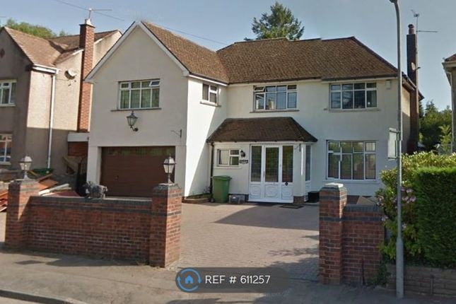 Thumbnail Detached house to rent in Rhiwbina Hill, Cardiff