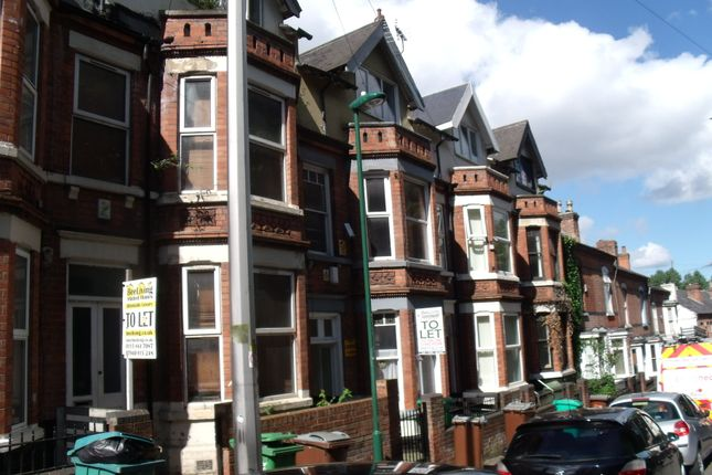 Thumbnail Terraced house to rent in Southey Street, Nottingham