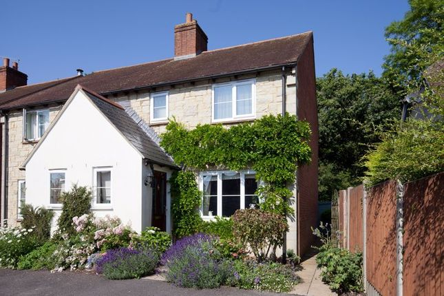 Thumbnail Semi-detached house for sale in Mallets Close, East Knoyle, Salisbury