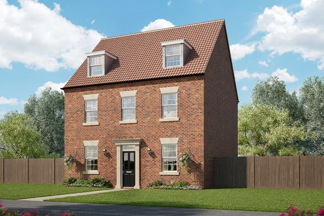 Thumbnail Detached house for sale in The Woodlands, Adel Lane, Leeds