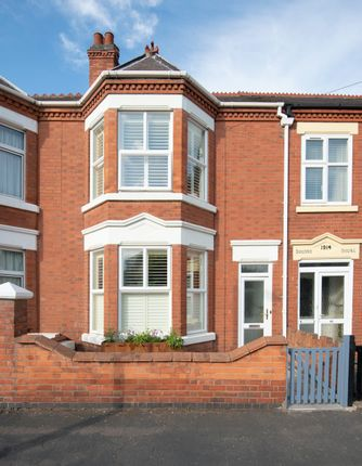 3 bed terraced house for sale in York Road, Leicestershire, Loughborough LE11