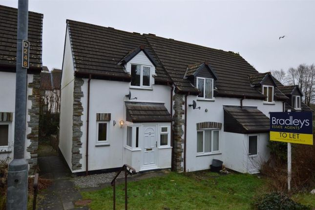 2 bed end terrace house to rent in Eastern Avenue, Liskeard, Cornwall