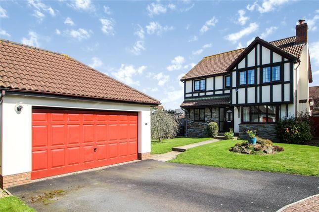 Thumbnail Detached house for sale in Linhay Drive, Fremington, Barnstaple