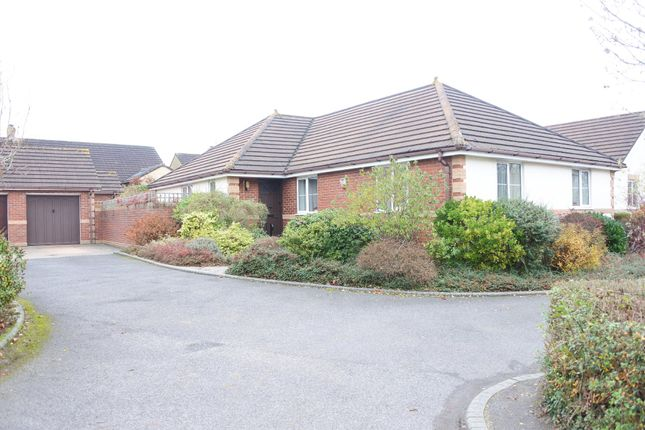 Thumbnail Detached bungalow for sale in River View, Gillingham