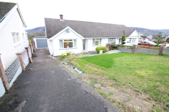Thumbnail Semi-detached bungalow for sale in Broadmead, Gilwern, Abergavenny