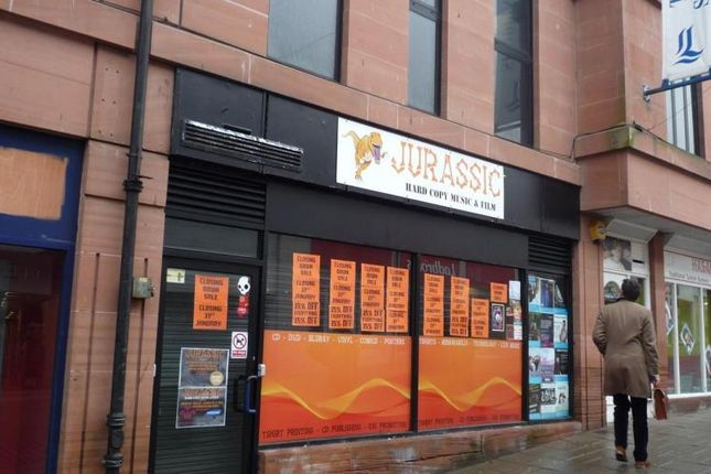 Retail premises to let in 10 High Street, Loreburne Shopping Centre, Dumfries