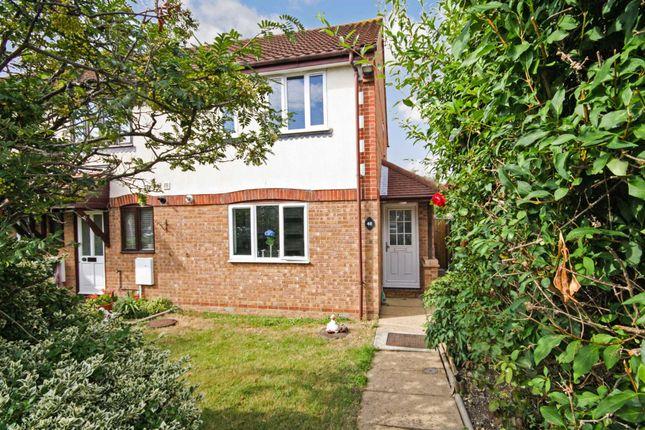 Thumbnail End terrace house for sale in Sweet Briar Drive, Laindon, Basildon