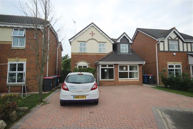 Thumbnail Detached house for sale in Wrenswood Drive, Ellenbrook, Manchester