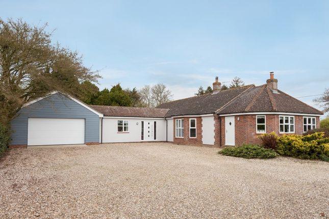 Thumbnail Detached bungalow for sale in Badley Moor, Dereham, Norfolk