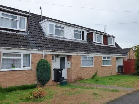 Thumbnail Terraced house to rent in Darell Close, Quedgeley, Gloucester