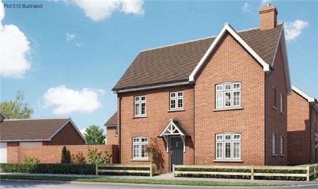 Thumbnail Semi-detached house for sale in The Kite At Chiswell Place, New Cardington, Bedfordshire