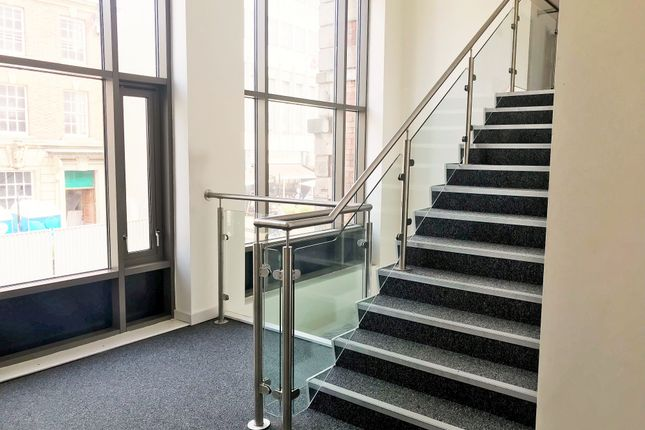 Stairs To Meeting Rooms