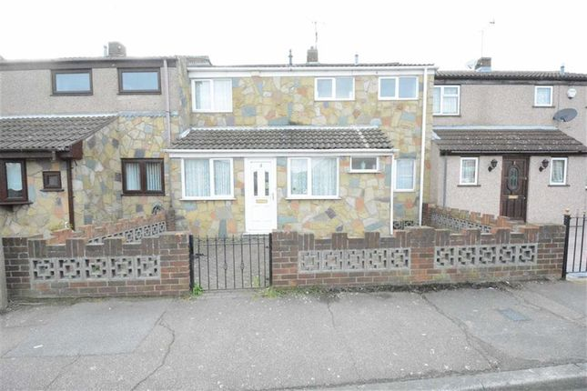 Thumbnail Terraced house to rent in Coleridge Road, Tilbury, Essex