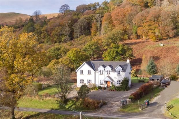 Thumbnail Detached house for sale in Creag Bhreac, Strathlachlan, Cairndow, Argyll And Bute