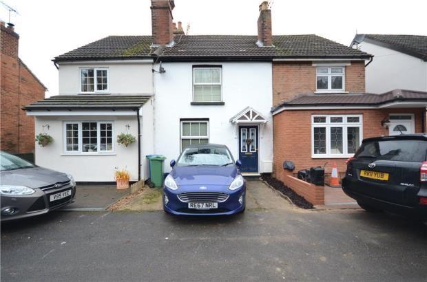 Thumbnail Terraced house for sale in Chapel Street, Farnborough, Hampshire
