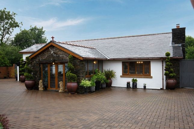 Thumbnail Detached bungalow for sale in Highgate, Carway, Kidwelly, Carmarthenshire