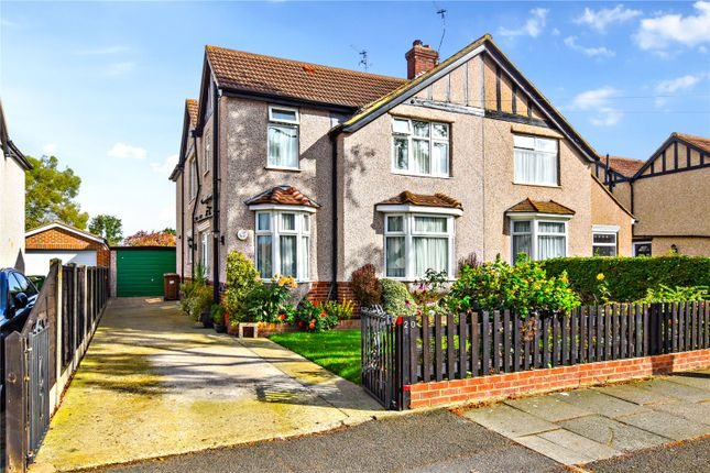 Thumbnail Semi-detached house for sale in Nursery Avenue, Bexleyheath, Kent