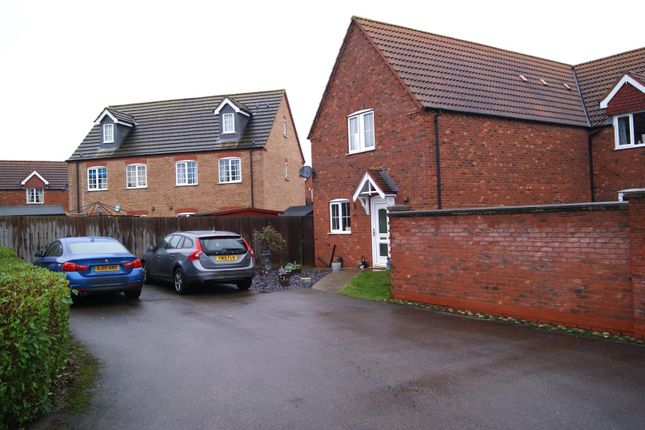 Thumbnail Semi-detached house for sale in Clover Way, Spalding