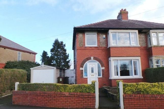 Thumbnail 3 bed semi-detached house for sale in The Esplanade, Frenchwood, Preston