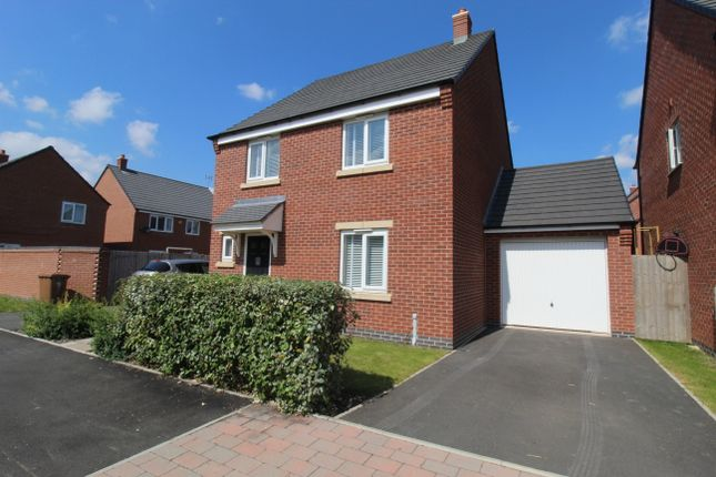 Thumbnail Detached house for sale in Bagnall Way, Hawksyard Estate, Rugeley