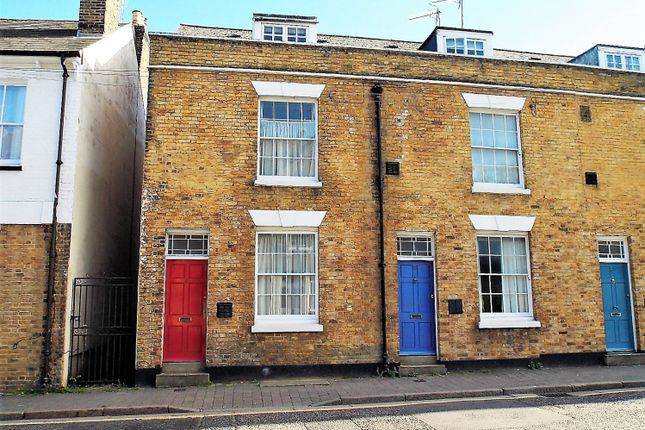 Thumbnail End terrace house for sale in Victoria Street, Rochester