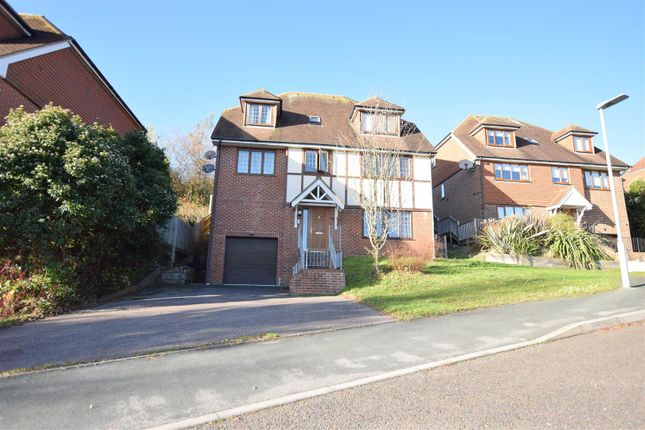 Thumbnail Detached house for sale in Beachy Head View, St. Leonards-On-Sea
