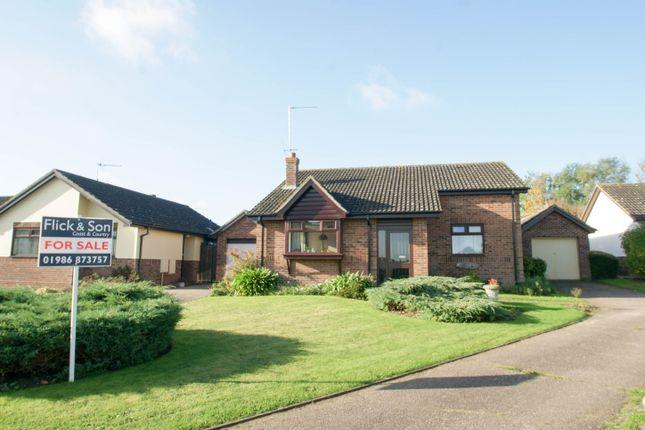 Thumbnail Detached bungalow for sale in Dakings Drift, Halesworth
