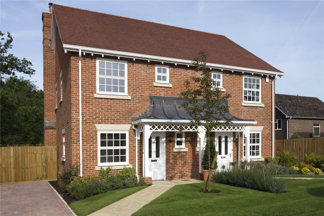 Thumbnail Semi-detached house for sale in Woodland View, Church Lane, Winchester, Hampshire