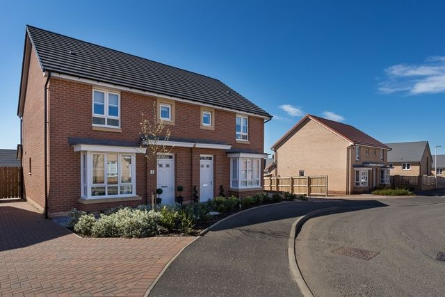 Thumbnail Semi-detached house for sale in Manse Road, Stonehouse, Larkhall