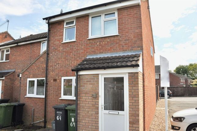 Thumbnail Terraced house for sale in Forest Gate, Evesham