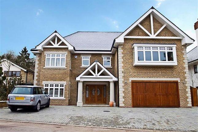 Thumbnail Detached house for sale in Barham Avenue, Elstree, Hertfordshire