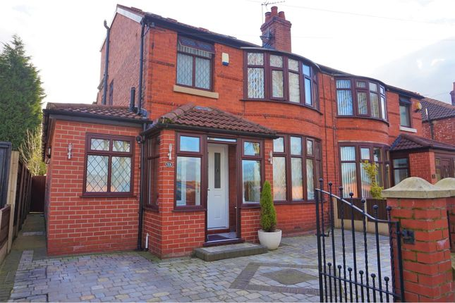 Thumbnail Semi-detached house for sale in Victoria Road, Manchester