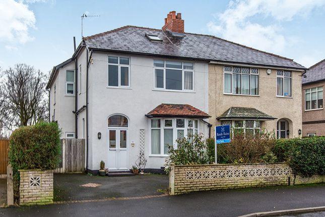 Thumbnail Semi-detached house for sale in St. Andrews Avenue, Ashton-On-Ribble, Preston