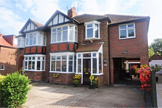 Thumbnail Semi-detached house for sale in Westland Road, Kirkella