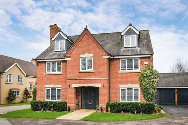 Thumbnail Detached house for sale in Restharrow Mead, Bicester