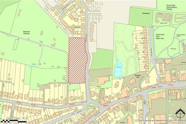 Thumbnail Land for sale in Westfield Avenue, Off Heath Lane, Earl Shilton, Leicestershire