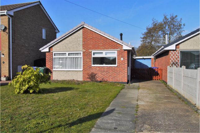 Thumbnail Detached bungalow for sale in Spilsby Close, Cantley, Doncaster