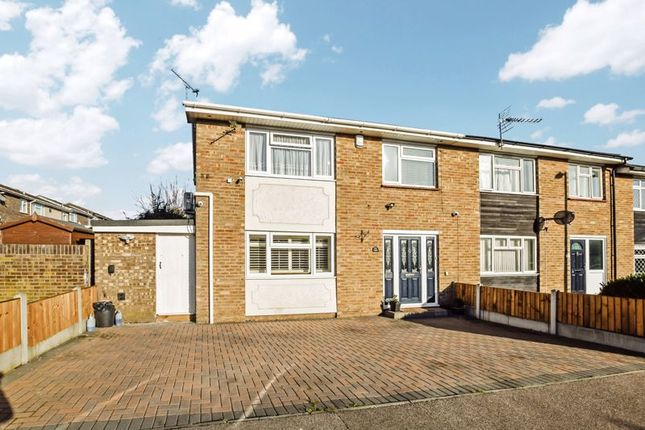 3 bed end terrace house for sale in Armstrong Close, Corringham, Stanford-Le-Hope SS17