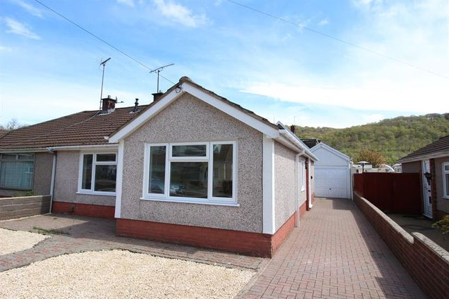 Thumbnail Semi-detached bungalow to rent in Glyn Bedw, Llanbradach, Caerphilly