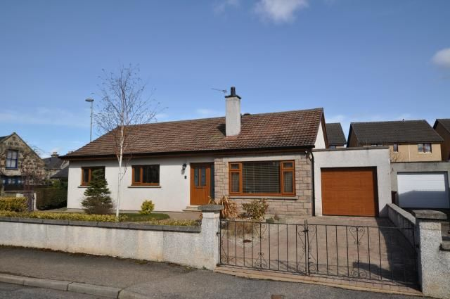 Thumbnail Bungalow for sale in 1 Meikle Crook, Forres
