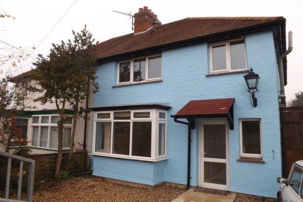 Thumbnail Semi-detached house to rent in Shelford Road, Trumpington, Cambridge