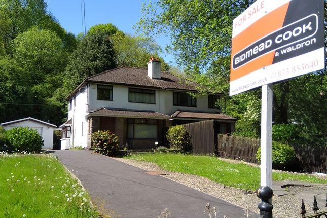 Thumbnail Semi-detached house for sale in Saleyard, Gilwern, Abergavenny