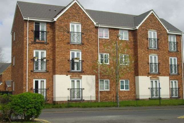 Thumbnail Flat to rent in Barley Mere Close, Newton Le Willows