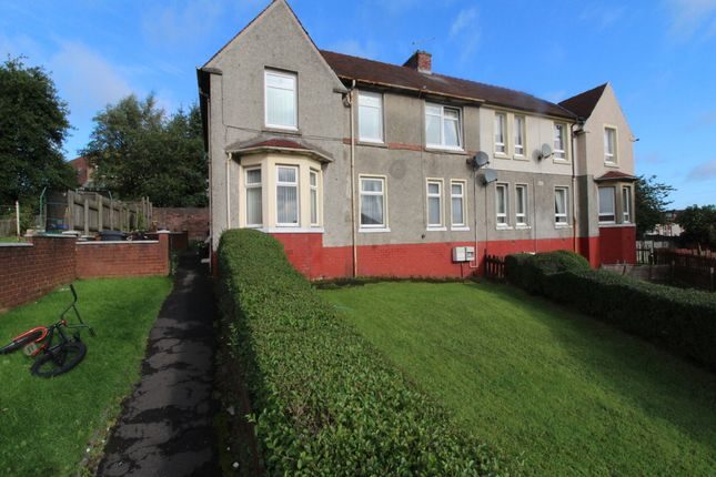 Thumbnail Flat for sale in Livingston Place, Airdrie, North Lanarkshire