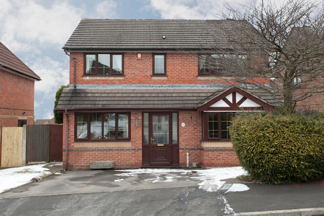 Thumbnail Detached house for sale in Cornwood Grove, Lightwood, Stoke-On-Trent